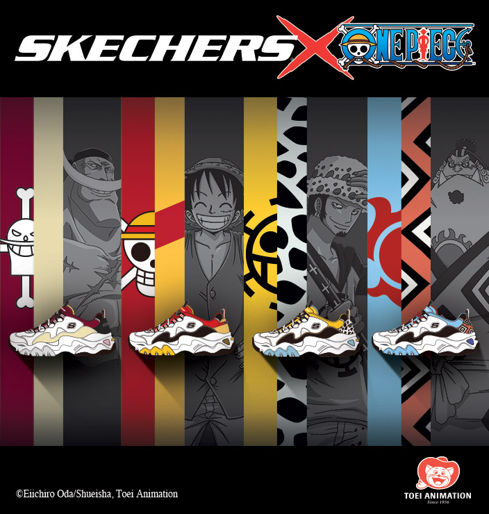 Skechers One Piece Thailand Clearance Shop